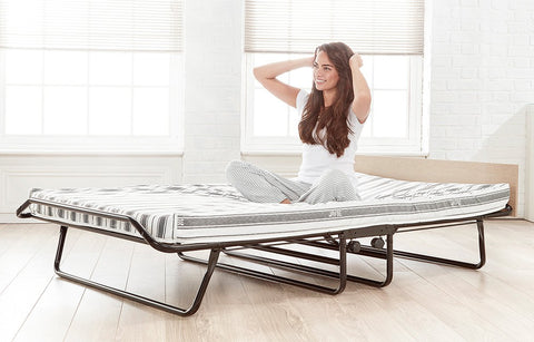 Jay-Be Supreme Folding Bed with Airflow Fibre Mattress-Better Bed Company