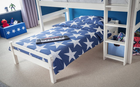 Maggie Combo Bunk Bed Bottom Bunk Close View-Better Bed Company