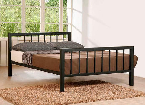 King Size Black Metal Bed Frame