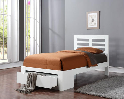 Flintshire Furniture New Bretton White Bed Frame-Better Bed Company