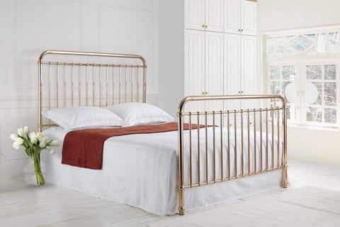 Time Living Rose Small Double Bed Frame-Better Bed Company