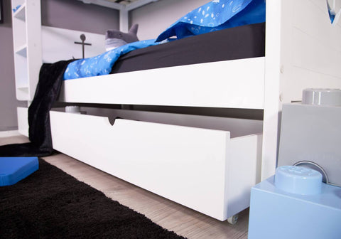 Sampson Bunk Bed Draw Close Up-Better Bed Company