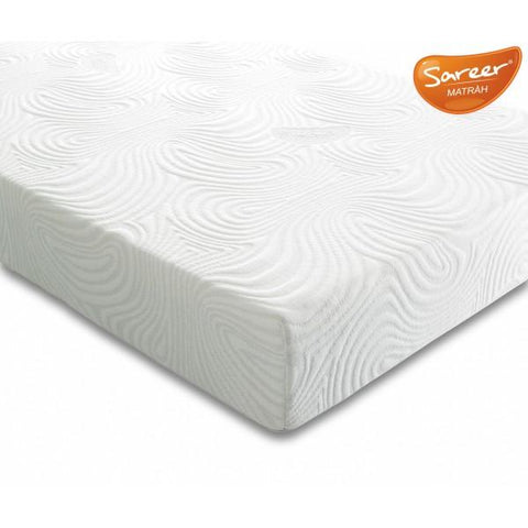 Small Double Mattress With A Latex Material Filling