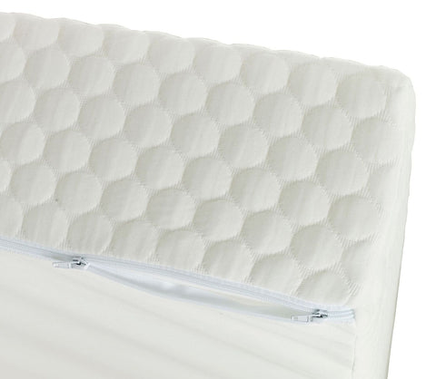 Sleepshaper Elite 500 Mattress Zip Cover Close Up-Better Bed Company
