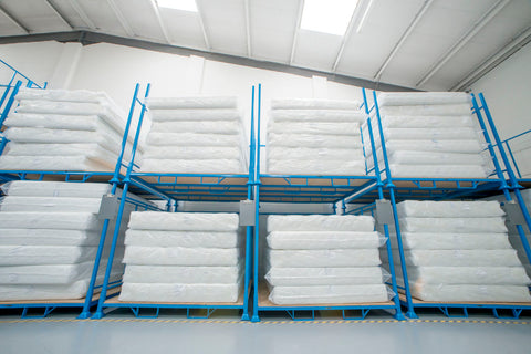 Sleepshaper Warehouse Stack Of mattresses-Better Bed Company