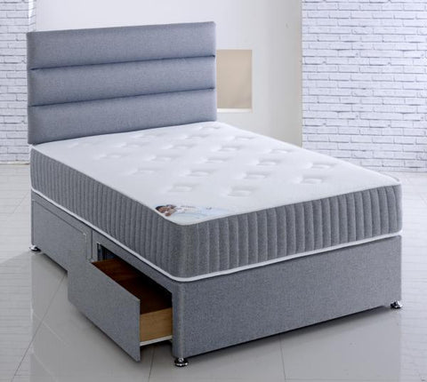 Vogue Beds Olivia Divan Bed-Better Bed Company