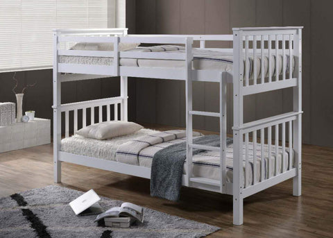 White Bunk Bed-Better Bed Company
