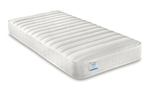 Small single memory foam mattress with reflex foam