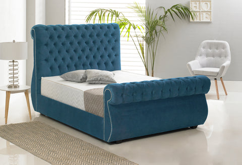 Wicker Fabric Bed-Better Bed Company