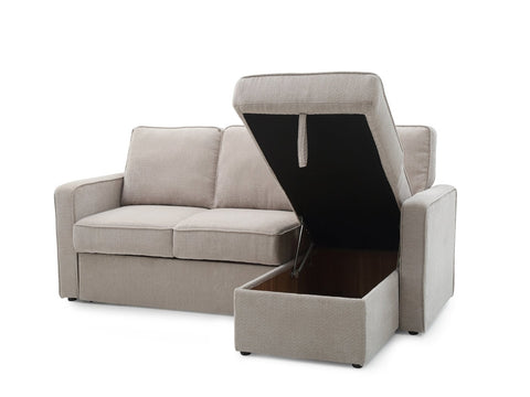 Kyoto Arc Sofa Bed Storage Open View-Better Bed Company