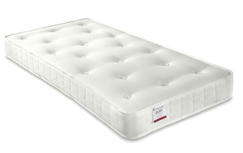 Bedmaster Clay Ortho Small Single Mattress-Better Bed Company