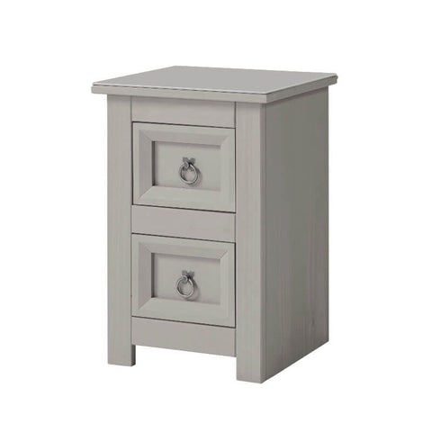Grey Bed Side Chest