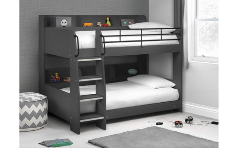 Julian Bowen Domino Anthracite-Better Bed Company