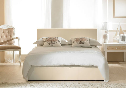 Emporia Beds Madrid Faux Leather Ottoman Bed-Better Bed Company