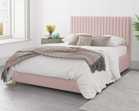 Pink Double Ottoman Bed-Better Bed Company