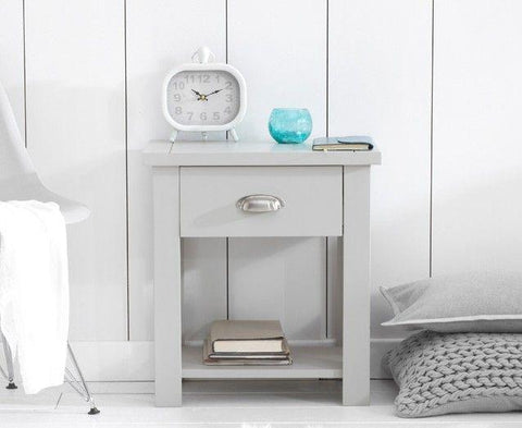 Grey Bed Side Table