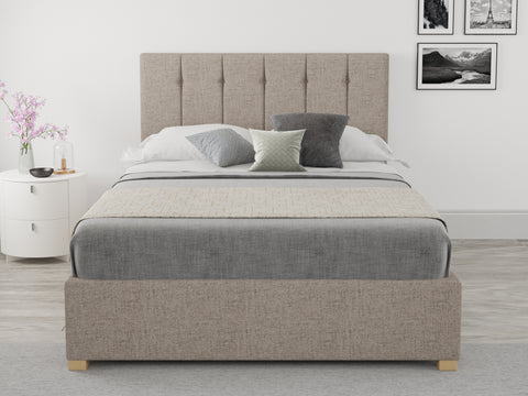 Brown 3ft Single Ottoman Bed