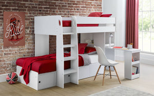 Julian Bowen Eclipse Bunk Bed White-Better Bed Company