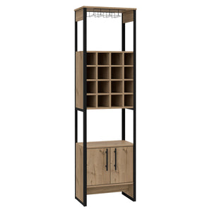 Core Products Brooklyn 2 Door Tall Wine Rack-Better Bed Company
