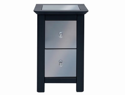 Core Products Ayr 2 Drawer Petite Bedside Cabinet
