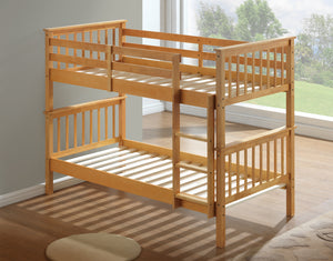 Artisan Bed Company New Bunk Bed Solid Slats On Show-Better Bed Company