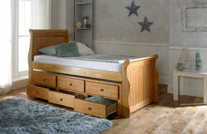 Artisan Bed Company Captain Bed In Oak Under Bed And Draws View-Better Bed Company
