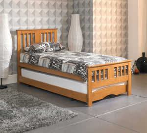 Artisan Bed Company Wooden Guest Bed-Artisan Bed Company-Oak-No Mattress-Better Bed Company