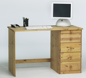 Steens Kent 4 + 1 Drawer Desk-Better Bed Company