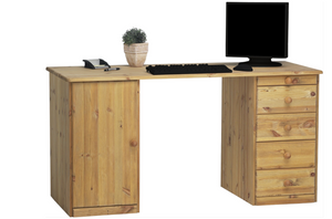 Steens Kent 1 Door 4 Drawer Desk-Better Bed Company