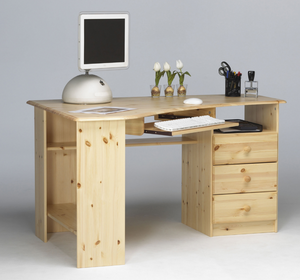 Steens Kent Corner Desk Pine-Better Bed Company