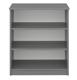 Steens 4 Kids 3 Drawer Bookcase Grey-Better Bed Company