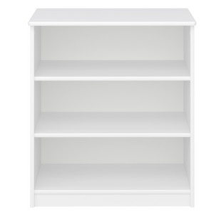 Steens For Kids 3 Drawer Book Case White-Better Bed Company