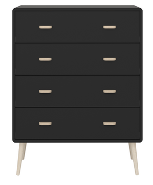 Steens Mino 4 Drawer Chest Black-Steens-Better Bed Company