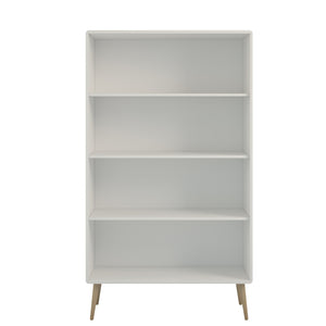 Steens Softline Living White Wide Bookcase-Better Bed Company