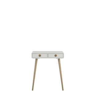 Steens Softline Living White Low Hall Table-Better Bed Company