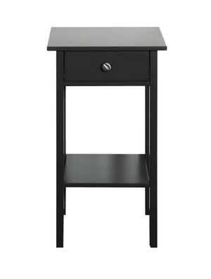 Steens Tromso Black Night Stand-Better Bed Company