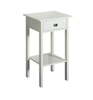 Steens Tromso White Night Stand-Better Bed Company