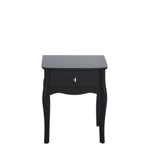 Steens Baroque Black Nightstand