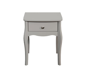 Steens Baroque Grey Nightstand-Night Stands-Better Bed Company