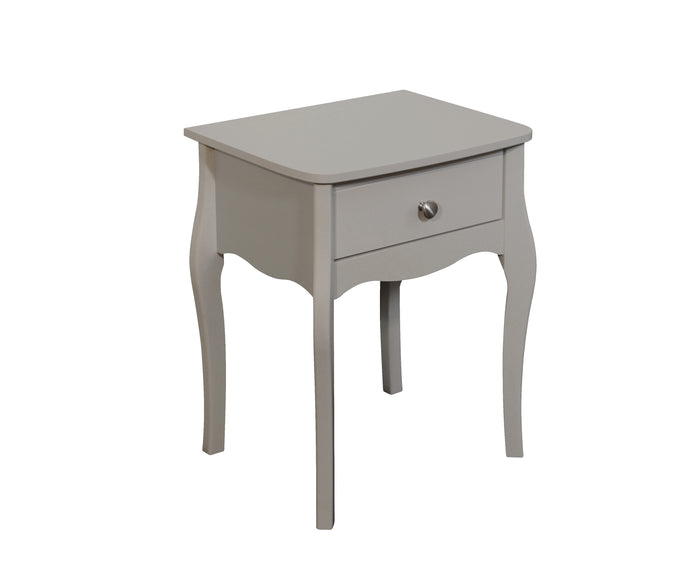 Steens Baroque Grey Nightstand