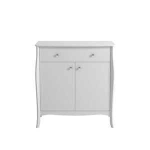 Steens Baroque White 2 Door 1 Drawer Sideboard-Better Bed Company