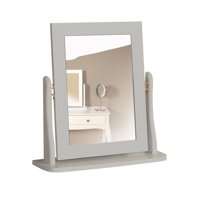 Steens Baroque Grey Stool and Mirror