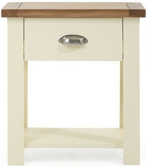 Mark Harris Furniture Sandringham Oak And Cream Nightstand-Night Stands-Mark Harris Furniture-Better Bed Company