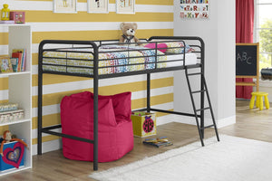 Dorel Home Mid Sleeper Black-Better Bed Company