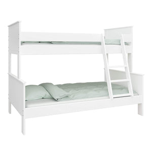 Steens Alba Family Bunk White Background-Better Bed Company