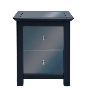 Core Products Ayr 2 Drawer Bedside Cabinet-Better Bed Company