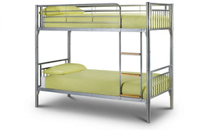 Adelyne Silver Bunk Bed-Bunk Beds-Jay Bow Beds-Better Bed Company