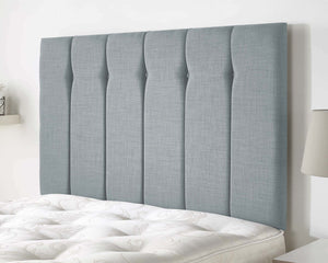 Better Amber Fabric Headboard In Sky Blue-Better Bed Company