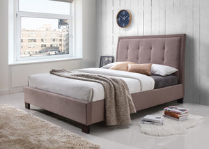 Artisan Brown Fabric Bed-Better Bed Company