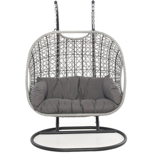 Maze Rattan Ascot Double Hanging Chair-Better Bed Company